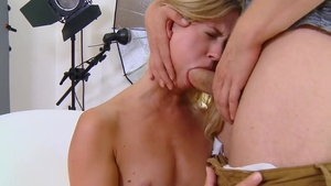 Small boobs Violette Pure blonde haired anal XXX