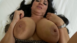 Large tits cougar POV fucked in the ass in HD