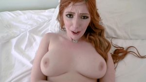 POV hard nailining together with hairy redhead Lauren Phillips