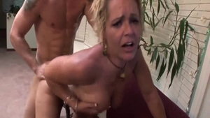 Crazy hard ramming with big boobs mature Kelly Leigh