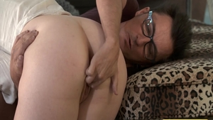 Bubble butt big tits german stepmom cock sucking