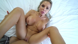 Stepmother Nina Elle ass fucking XXX video HD