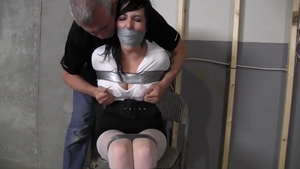 Stepmom domination tied up