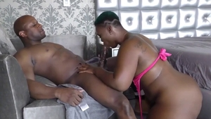 Short hair ebony mature likes raw sex in HD