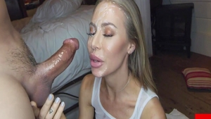 Art plowing hard in company with Nicole Aniston