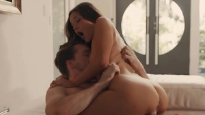 Plowing hard accompanied by small tits babe Zoe Bloom