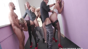 Orgy together with Syren De Mer as well as arbie Sins