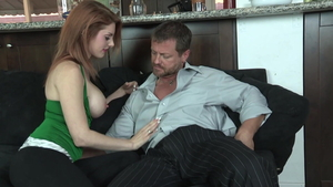 Eric Masterson having sex with large tits redhead Lilith Lust