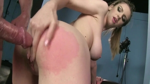 Hard slamming alongside young babe Stella Cox