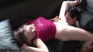 Very sexy mature rough handjob in a taxi