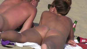 Got her pussy smashed outdoors with huge boobs brunette