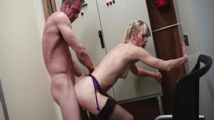 Real sex in company with skinny dutch babe