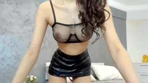 Asian whore fingering live on cam