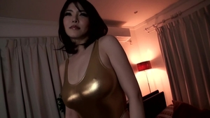 Rough sex escorted by large tits japanese mature