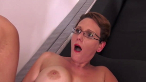 Ramming hard along with sexy female Sandy Lou