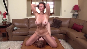 Large boobs Mindi Mink getting smashed very nicely porno