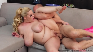 Very hot blonde hair goes in for ramming hard in HD
