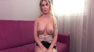 Charming french supermodel experience pussy fucking at casting