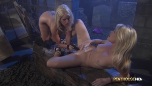 Alexis Ford playing with sex toys