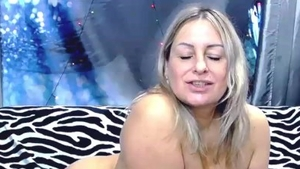 Big tits hottest russian mature sucking cock on live cam HD