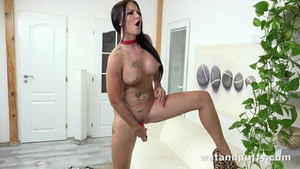 Rough fucking accompanied by inked mature Isabel Dark in HD