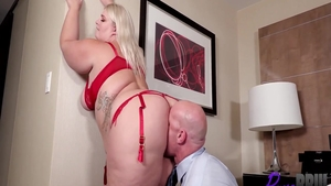 Passionate BBW Tiffany Star goes for nailed rough