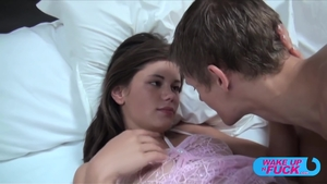 Flat chest Little Caprice agrees to rough fucking