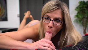 Good fucking in company with huge boobs stepmom Cory Chase