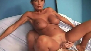 Hardcore creampie with nasty french mature