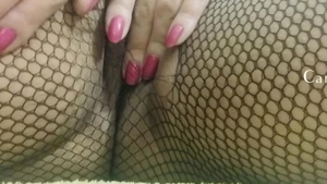 Rough nailing in the company of curvy amateur
