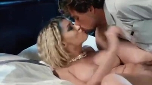 Blowjob cum with petite french blonde