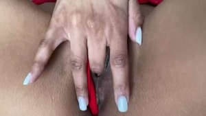 Reality creampie along with small boobs ebony couple