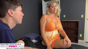 American Jayna Woods is so big ass blonde babe