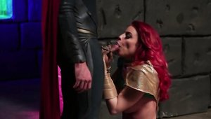 Cosplay real fucking with large tits pornstar Britney Amber