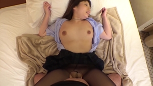 Hard sex starring busty japanese dentist