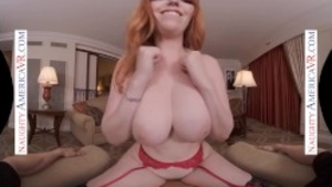 Sex scene in company with naughty american