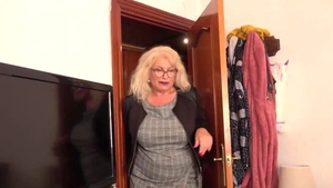 Hard sex together with curvy european cougar