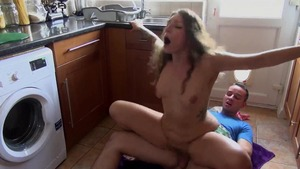 Raw hard sex along with inked stepsister