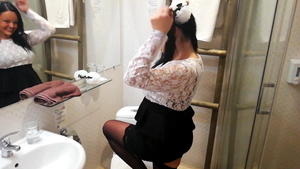 College student need gets nailed rough HD
