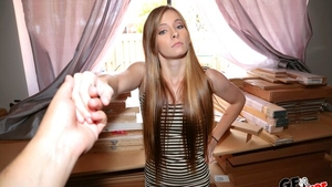 Piercing blonde hair Kaylee Jewel need gets hard nailining