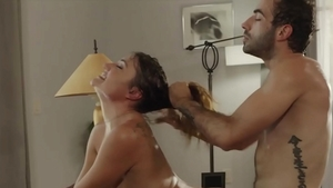 Hard nailining with babe Aspen Reign starring Jake Adams