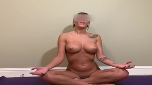 Big butt amateur reality yoga