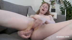 Petite redhead ass pounded