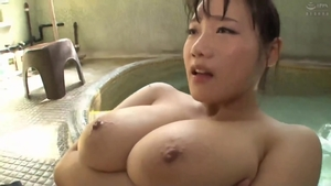 Large boobs japanese mature rides a hard dick in club in HD