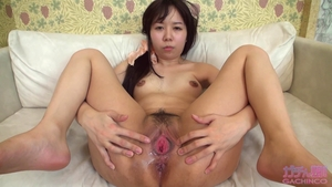 Asian small boobs brunette sex with toys solo