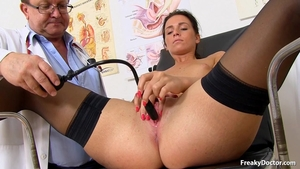 Pussy fucking in the clinic sexy czech