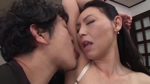 Asian stepmother likes rough fucking in HD
