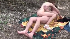 Super ugly big boobs 18 yr old homemade cheating outdoors HD