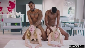 Babe Cadence Lux raw foursome
