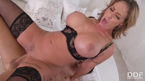 Mick Blue fucking large boobs stepmom Eva Notty